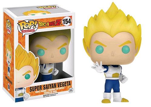Dragon Ball Z - Vegeta Super Saiyan Blue & White US Exclusive Pop! Vinyl