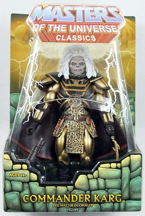 Masters of the Universe William Stout Collection  - Karg figure