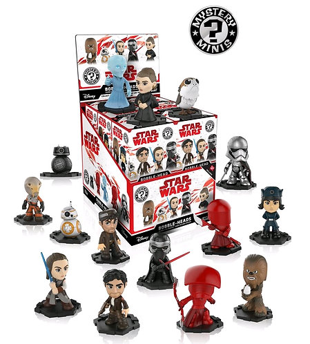 Star Wars - Episode VIII The Last Jedi Mystery Minis WG US Exclusive Blind Box