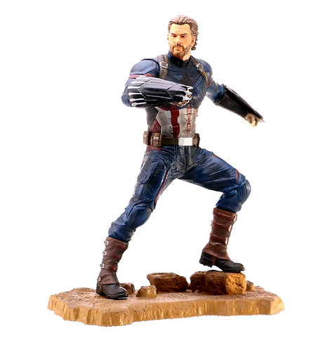 Avengers 3: Infinity War - Captain America PVC Gallery Statue