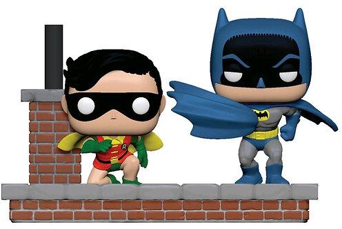 Batman (1966) - Look Batman & Robin Comic Moments Pop! Vinyl