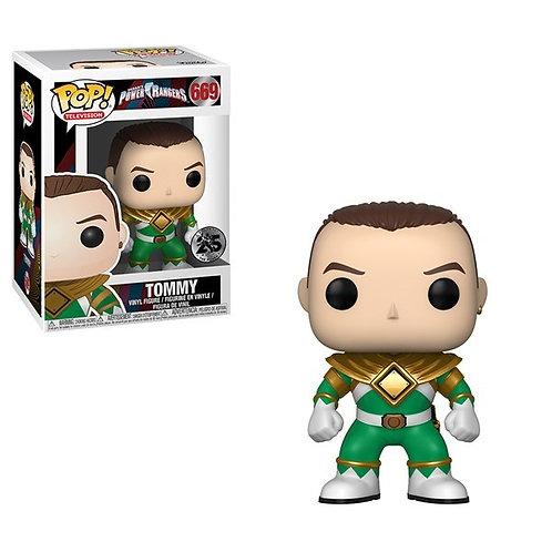 Mighty Morphin' Power Rangers - 25th Anniversary Green Ranger Unmasked Pop! Viny
