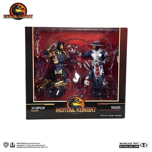 "Mortal Kombat - Scorpion & Raiden 7"" Action Figure 2-pack"