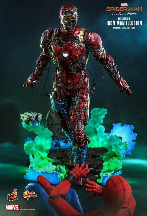 "Spiderman: Far From Home - Mysterios Iron ManIllusion 1:6 Scale 12"" Action Figur"