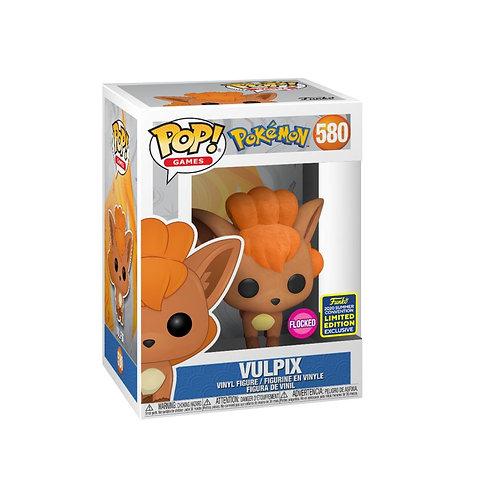 Pokemon - Vulpix Flocked SDCC 2020 Exclusive POP!