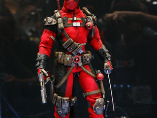 SDCC2014 - Sideshow Marvel Sixth Scale Figures Display