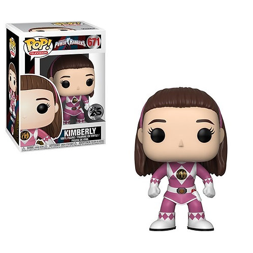 Mighty Morphin' Power Rangers - 25th Anniversary Pink Ranger Unmasked Pop! Vinyl