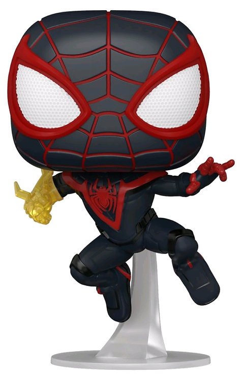 Spider-Man: Miles Morales - Spider-Man (with chase) Pop! Vinyl
