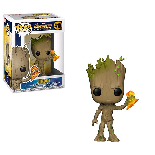 Avengers 3: Infinity War - Groot with Stormbreaker Pop! Vinyl