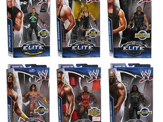 WWE ELITE FIGURES ARE HERE!
