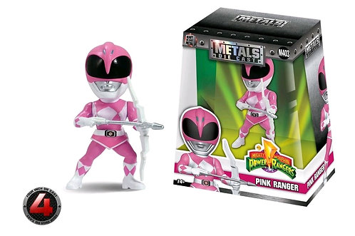 "Mighty Morphin Power Rangers - Pink Ranger 4"" Metals"