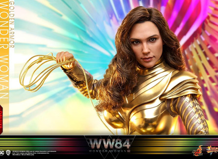 Wonder Woman 1984 -  1/6th scale Golden Armor Wonder Woman Collectible Figure