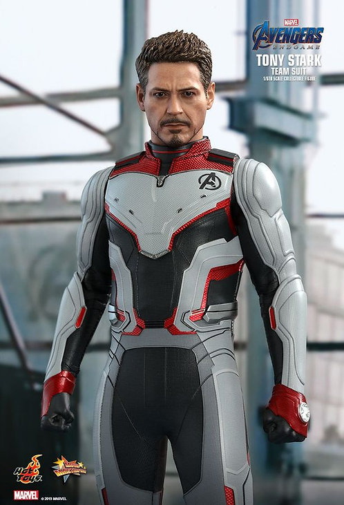 "Avengers 4: Endgame - Tony Stark Team Suit 12"" 1:6 Scale Action Figure"