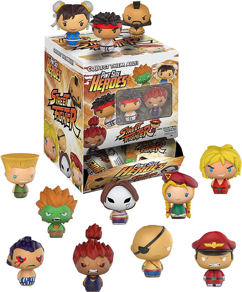 Street Fighter - Pint Size Heroes GS US Exclusive Blind Box Set Of 12