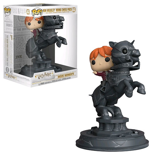 Harry Potter - Ron riding Chess Knight Movie Moments Pop! Vinyl