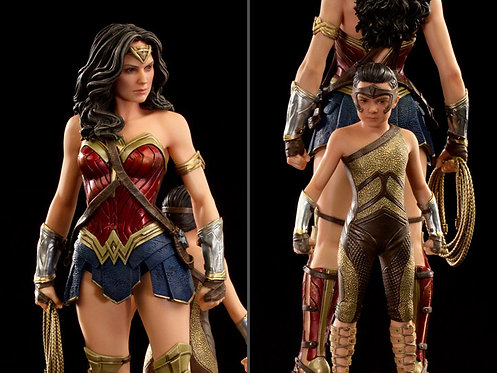 Wonder Woman 1984 - Wonder Woman & Young Diana 1:10 Scale Statue