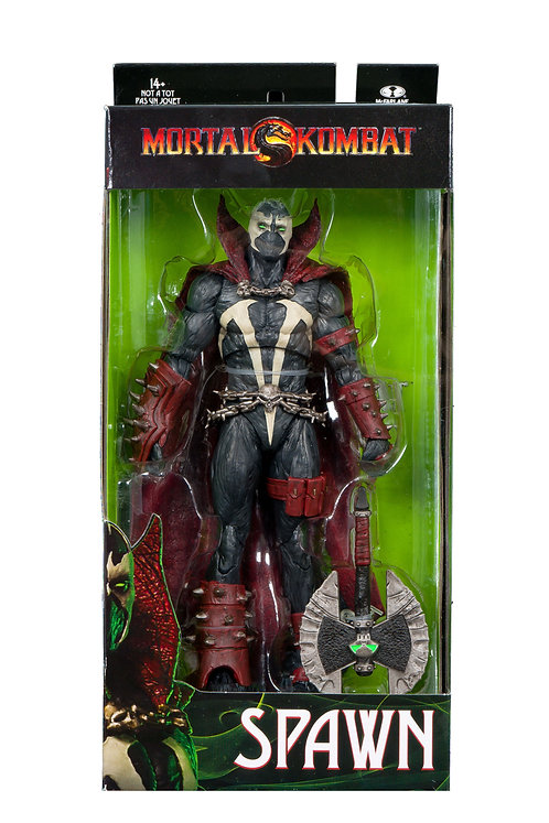 """Mortal Kombat - Spawn with Axe 7"""" Action Figure"""