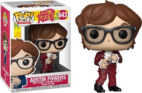 Austin Powers - Austin Powers Red Suit US Exclusive Pop! Vinyl