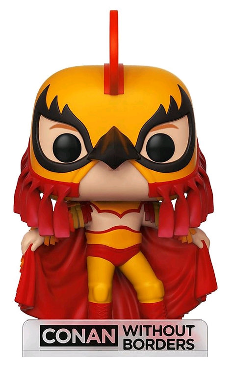 Conan O'Brien - Conan Luchador US Exclusive Pop! Vinyl