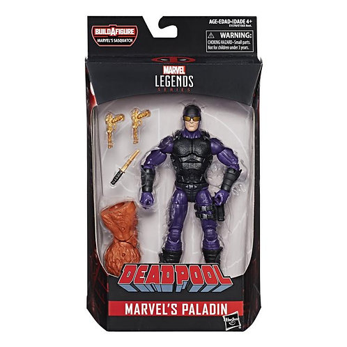 Marvel Legends - Deadpool - Marvel's Paladin (Sasquatch BAF)