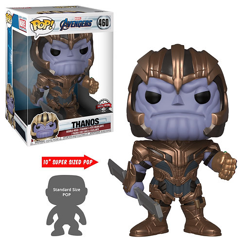 "Avengers 4: Endgame - Thanos 10"" US Exclusive Pop! Vinyl"