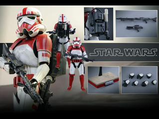"Hot Toys Star Wars - Shock Trooper 12"" Figure Now up for Pre Order"
