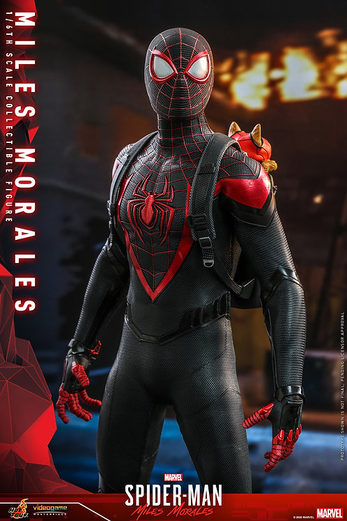 """Spider-Man: Miles Morales - Miles Morales 1:6 Scale 12"""" Action Figure"""
