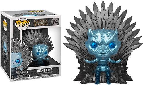 Game of Thrones - Night King Throne Metallic US Exclusive Pop! Deluxe