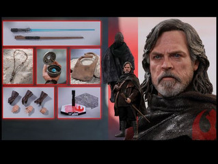 "Hot Toys - Star Wars - Luke Skywalker Episode VIII The Last Jedi 12"" 1:6 Scale Action Figure"