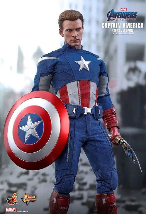 "Avengers 4: Endgame - Captain America 2012 1:6 Scale 12"" Action Figu"
