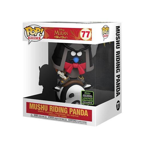 Mulan - Mushu Riding Panda (6 inch) ECCC 2020 Exclusive