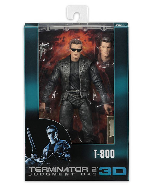 "Terminator - T-800 25th Anniversary 3D 7"" Action Figure"