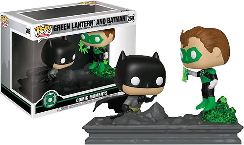 Green Lantern - Green Lantern & Batman Jim Lee EX Pop! Vinyl