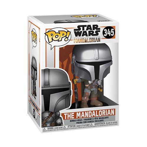 Star Wars: The Mandalorian - Mandalorian Pose Metallic Pop! Vinyl