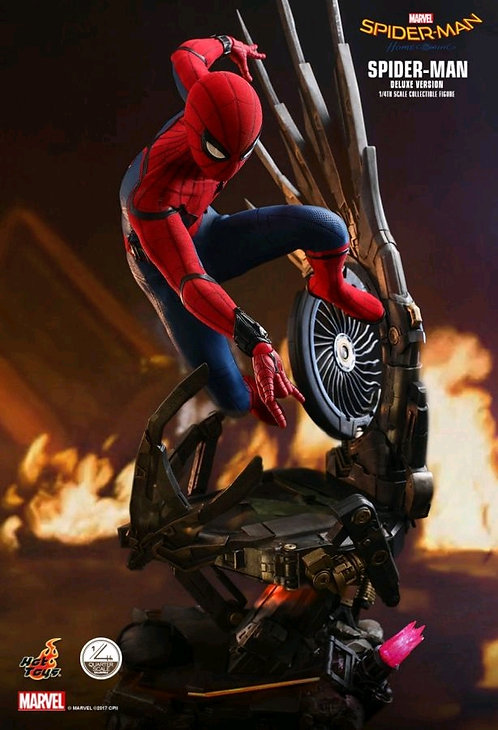 Spider-Man: Homecoming - Spider-Man Deluxe 1:4 Scale Action Figure