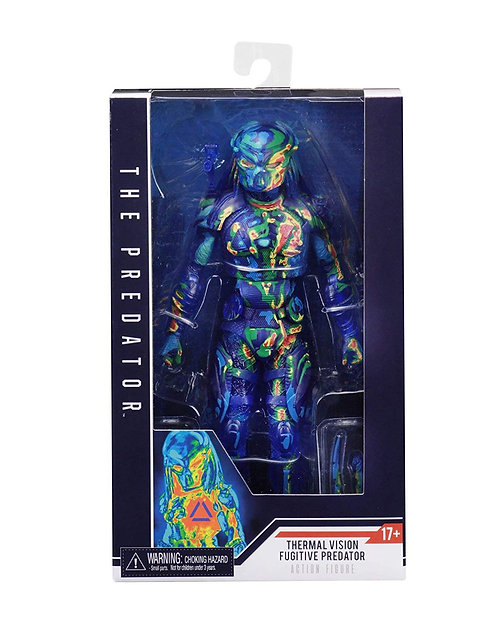 "The Predator - 7"" Thermal Vision Fugitive Action Figure"