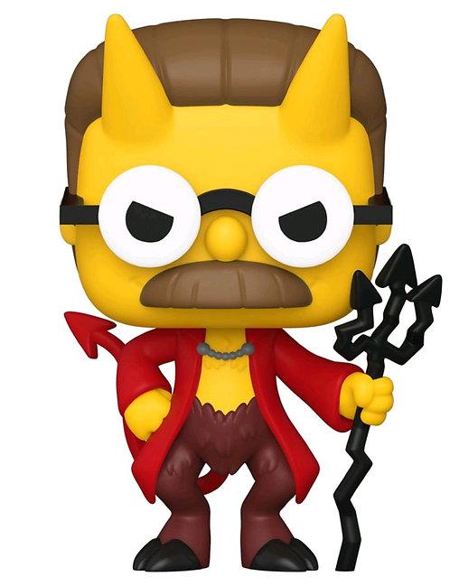 Simpsons - Flanders Devil Pop! Vinyl