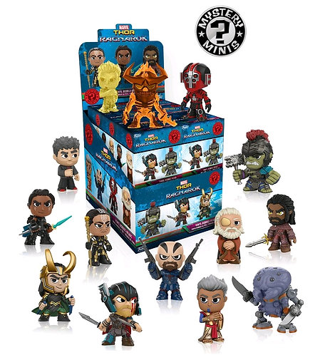 Thor 3: Ragnarok - Mystery Minis Blind Box Set Of 12