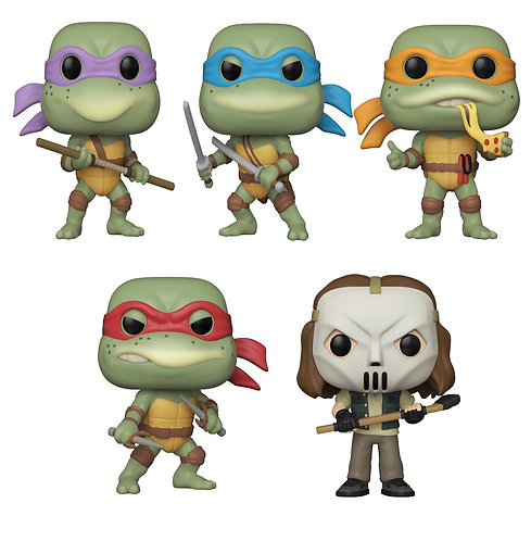 Teenage Mutant Ninja Turtles (1990) - Pop! Vinyl Bundle (Set Of 5)