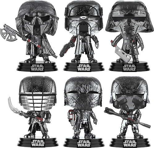 Star Wars Episode IX: The Rise Of Skywalker - Knights Of Ren Chrome (Set of 6)