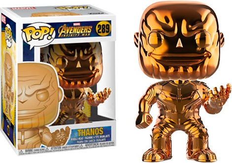 Avengers 3: Infinity War - Thanos Orange Chrome US Exclusive Pop! Vinyl