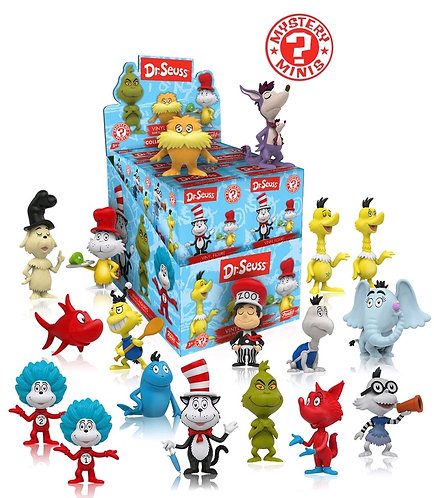 Dr Seuss - Mystery Minis Blind Box Set Of  12