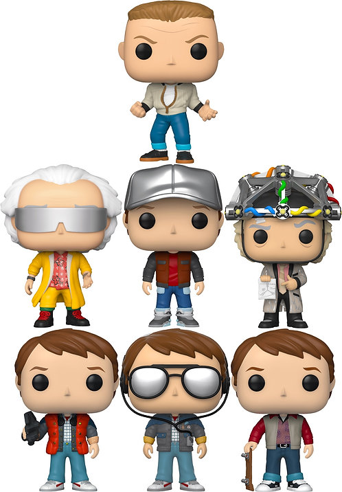 Back To The Future - You Guys Aren't Ready For This Pop! Vinyl Bundle (S