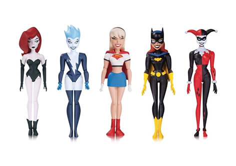 Batman: The New Batman Adventures - Girl's Night Out Action Figure 5-Pack