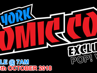New York Comic Con 2018 - Exclusives