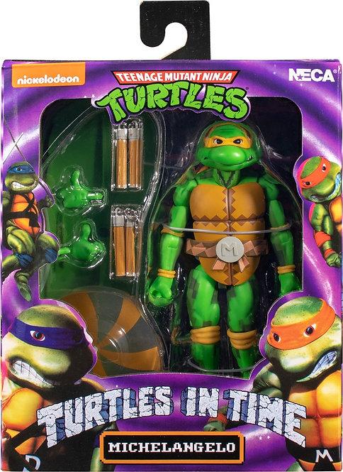 "Teenage Mutant Ninja Turtles In Time - Michelangelo 7"" Action Figure"