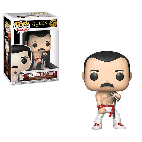 Queen - Freddy Mercury Diamond Glitter US Exclusive Pop! Vinyl