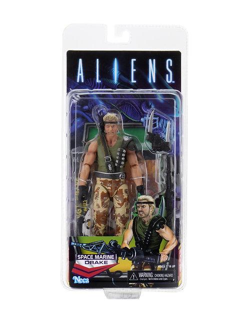 "Aliens - Drake Space Marine 7"" Action Figure"