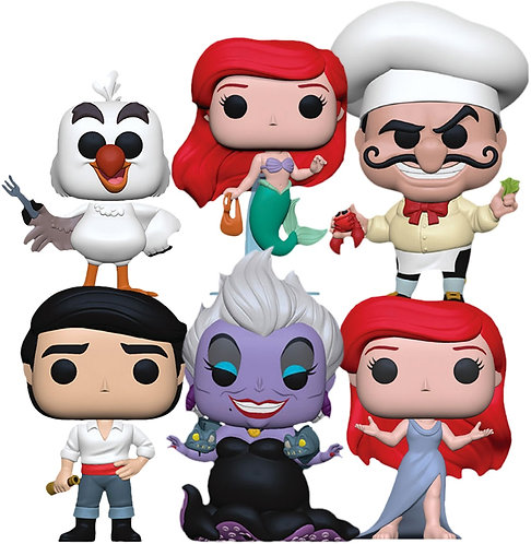 The Little Mermaid - Pop! Vinyl Bundle (Set Of 6)