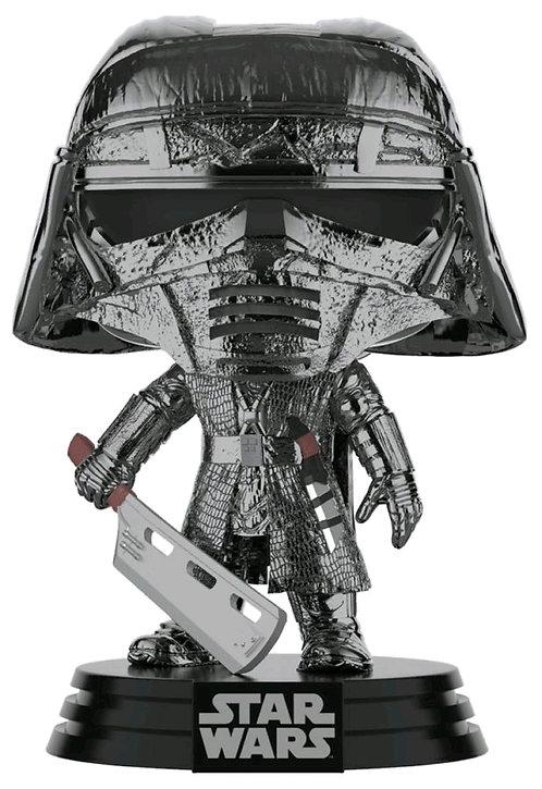Star Wars - Knight of Ren Blade Episode IX Rise of Skywalker Hematite Chrome Pop